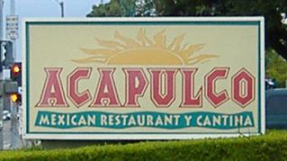 Acapulco Sign