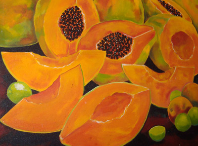 Acapulco - Papaya Painting