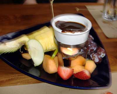 Agave Mexican Grill Chocolate Fondue