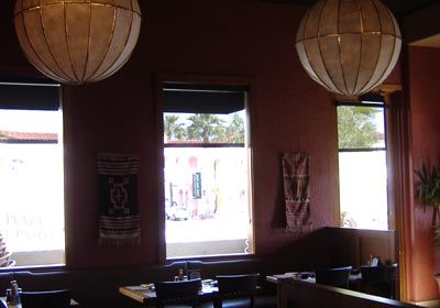 Agave Mexican Grill Interior