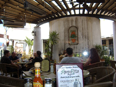 Agave Mexican Grill's Heated Patio