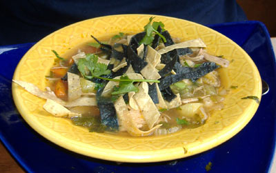 Agave Mexican Grill's Chicken Tortilla Soup
