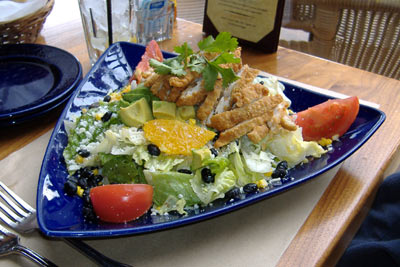 Agave Mexican Grill Crispy Chipotle-Honey Chicken Salad