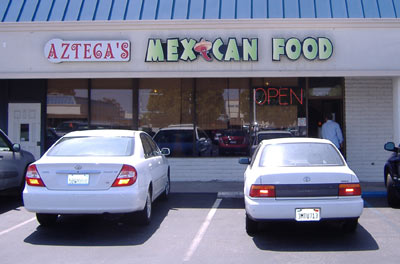 Azteca's of Fountain Valley; Exterior