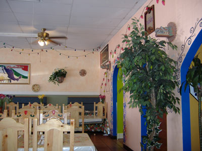 Azteca's of Fountain Valley; Interior
