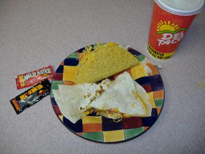 Del Taco Food