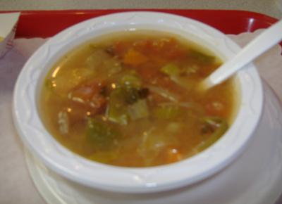 El Conejito Albondigas Soup