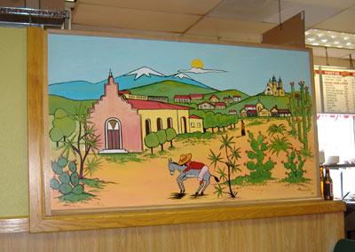El Conejito Wall Painting