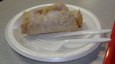El Conejito Apple Burrito