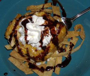 El Torito Deep-fried Ice Cream