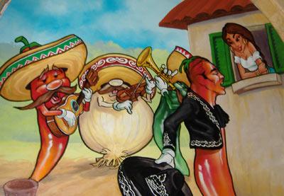 La Cocina de Isabel - Wall Painting #1