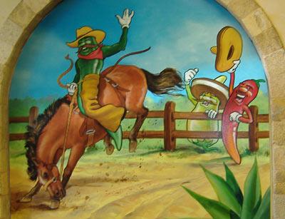 La Cocina de Isabel - Wall Painting #2