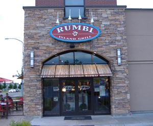 Rumbi's Island Grill Exterior