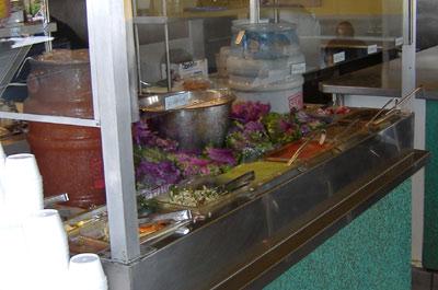 Taco Mesa Salsa Bar