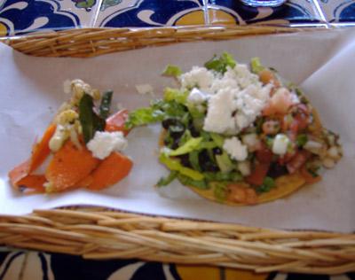 Taco Rosa Appetizer Tray