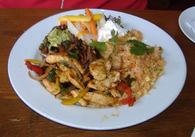 Taléo Chicken Fajitas