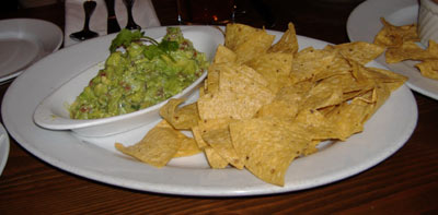 Taléo Guacamole and chips